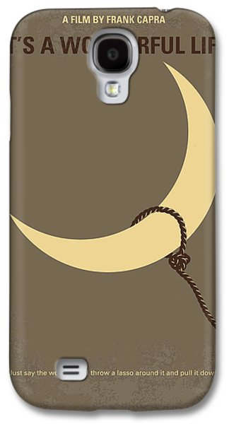 No700 My Its A Wonderful Life Minimal Movie Poster Galaxy S4 Case by Chungkong Art