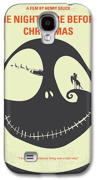 No712 My The Nightmare Before Christmas Minimal Movie Poster Galaxy S4 Case by Chungkong Art