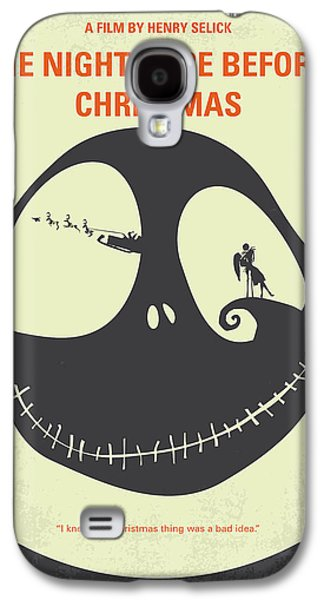 No712 My The Nightmare Before Christmas Minimal Movie Poster Galaxy S4 Case