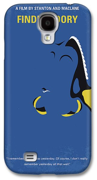 No717 My Finding Dory Minimal Movie Poster Galaxy S4 Case by Chungkong Art