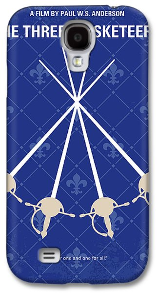 Cardinal Galaxy S4 Case - No724 My The Three Musketeers Minimal Movie Poster by Chungkong Art
