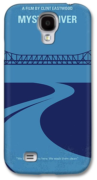 No729 My Mystic River Minimal Movie Poster Galaxy S4 Case by Chungkong Art