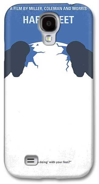Penguin Galaxy S4 Case - No744 My Happy Feet Minimal Movie Poster by Chungkong Art