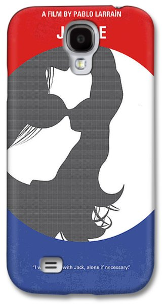 No755 My Jackie Minimal Movie Poster Galaxy S4 Case by Chungkong Art