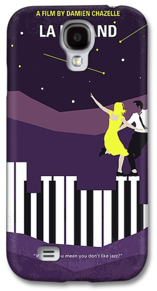 No756 My La La Land Minimal Movie Poster Galaxy S4 Case by Chungkong Art
