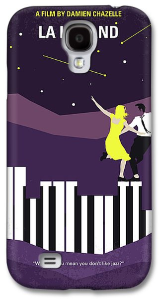 No756 My La La Land Minimal Movie Poster Galaxy S4 Case