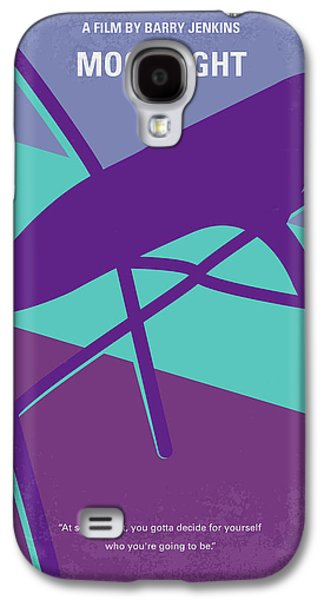 No757 My Moonlight Minimal Movie Poster Galaxy S4 Case by Chungkong Art