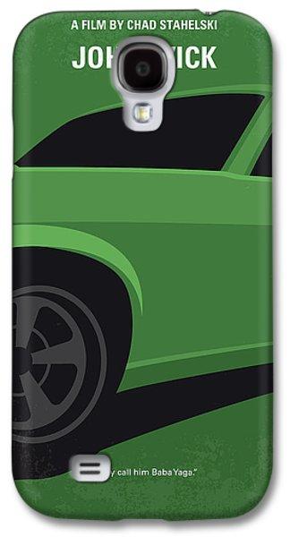 No759 My John Wick Minimal Movie Poster Galaxy S4 Case by Chungkong Art