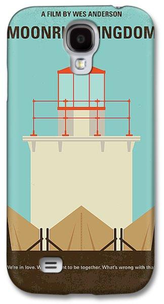 No760 My Moonrise Kingdom Minimal Movie Poster Galaxy S4 Case by Chungkong Art