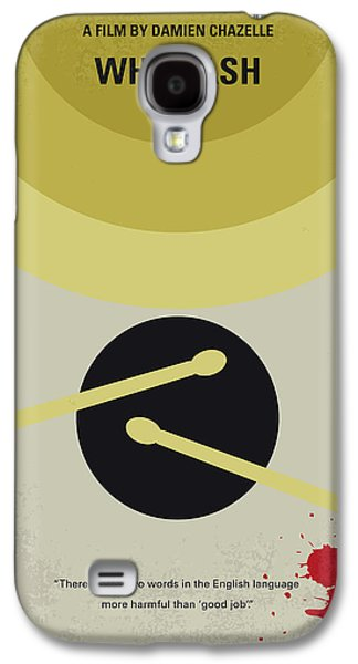 No761 My Whiplash Minimal Movie Poster Galaxy S4 Case by Chungkong Art