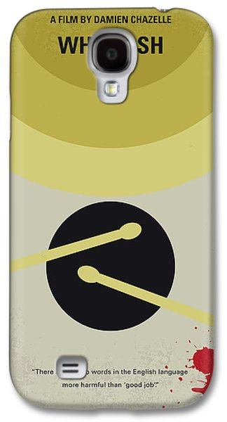 Drum Galaxy S4 Case - No761 My Whiplash Minimal Movie Poster by Chungkong Art