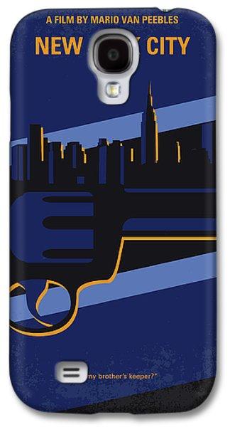 No762 My New Jack City Minimal Movie Poster Galaxy S4 Case by Chungkong Art