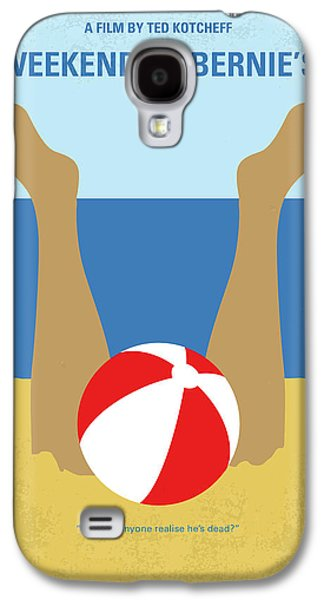 No765 My Weekend At Bernies Minimal Movie Poster Galaxy S4 Case