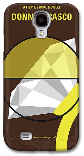 No766 My Donnie Brasco Minimal Movie Poster Galaxy S4 Case by Chungkong Art