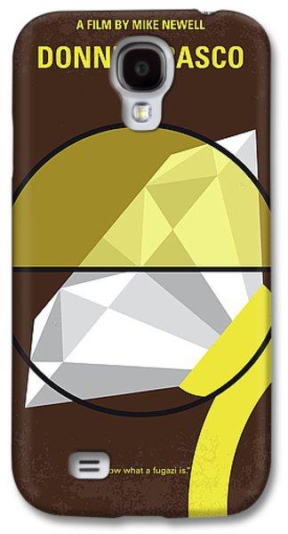 No766 My Donnie Brasco Minimal Movie Poster Galaxy S4 Case