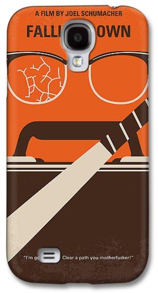 No768 My Falling Down Minimal Movie Poster Galaxy S4 Case by Chungkong Art