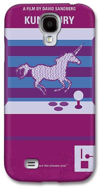 No770 My Kung Fury Minimal Movie Poster Galaxy S4 Case