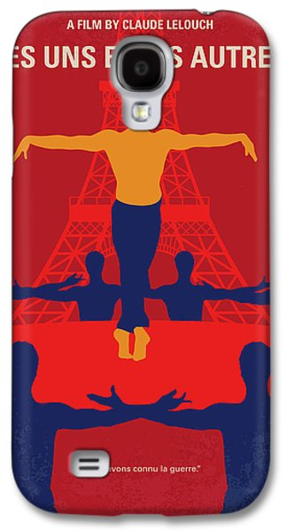 No771 My Les Uns Et Les Autres Minimal Movie Poster Galaxy S4 Case by Chungkong Art