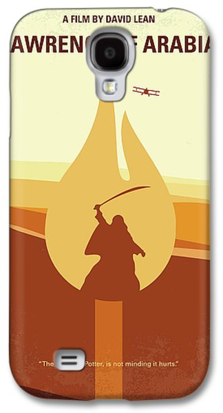 No772 My Lawrence Of Arabia Minimal Movie Poster Galaxy S4 Case
