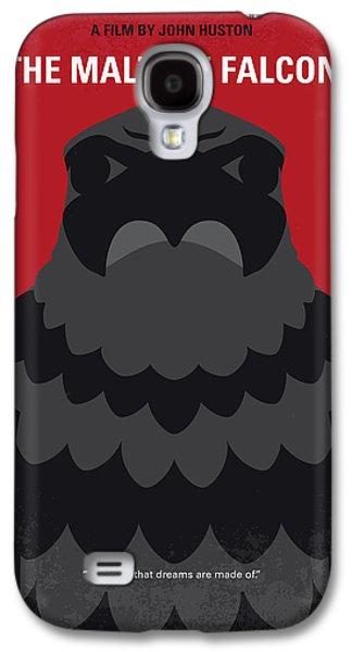 Falcon Galaxy S4 Case - No780 My The Maltese Falcon Minimal Movie Poster by Chungkong Art