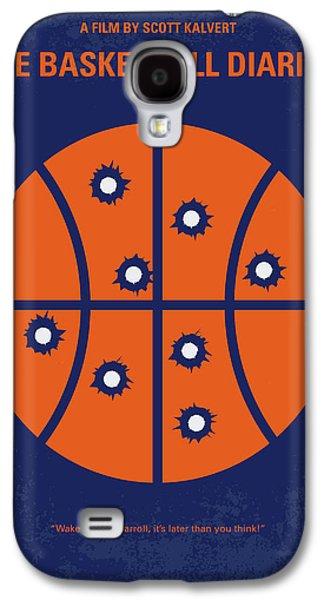 Basketball Galaxy S4 Case - No782 My The Basketball Diaries Minimal Movie Poster by Chungkong Art