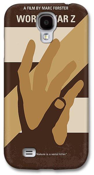 No783 My World War Z Minimal Movie Poster Galaxy S4 Case by Chungkong Art