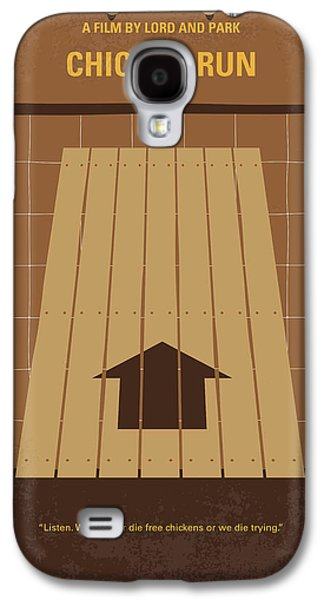 No789 My Chicken Run Minimal Movie Poster Galaxy S4 Case by Chungkong Art