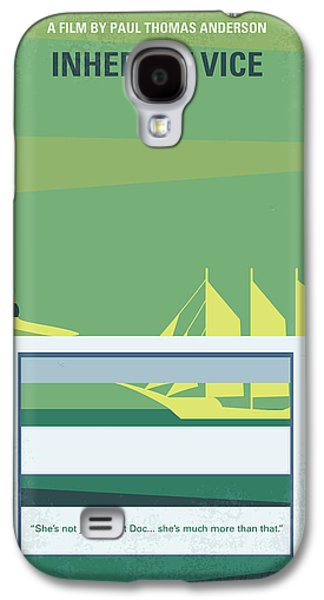 No793 My Inherent Vice Minimal Movie Poster Galaxy S4 Case