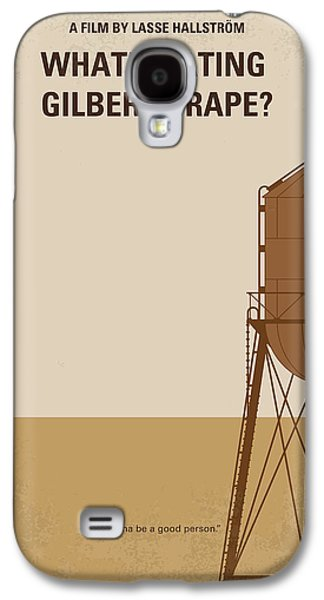 No795 My Whats Eating Gilbert Grape Minimal Movie Poster Galaxy S4 Case by Chungkong Art