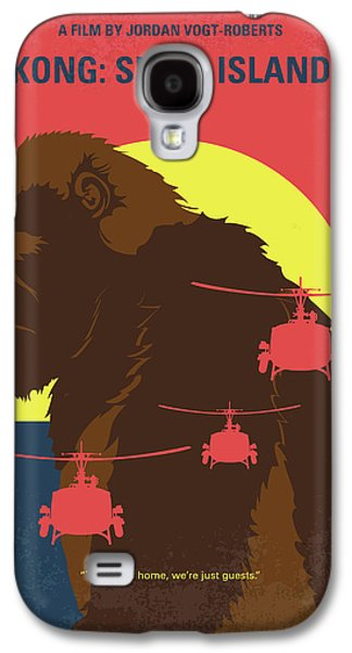 Helicopter Galaxy S4 Case - No799 My Skull Island Minimal Movie Poster by Chungkong Art