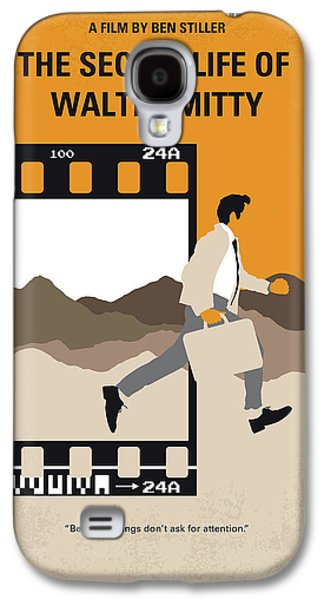 No806 My The Secret Life Of Walter Mitty Minimal Movie Poster Galaxy S4 Case
