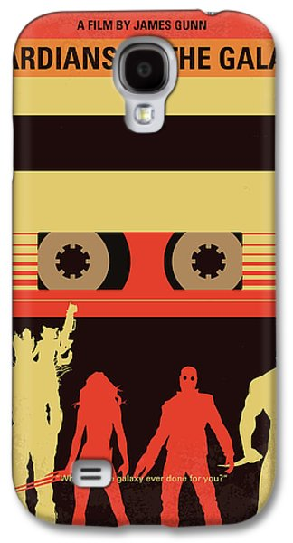No812 My Guardians Of The Galaxy Minimal Movie Poster Galaxy S4 Case