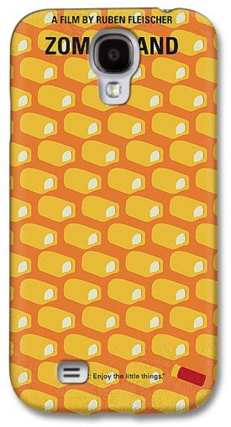 No829 My Zombieland Minimal Movie Poster Galaxy S4 Case