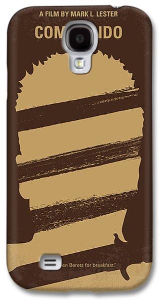 No834 My Commando Minimal Movie Poster Galaxy S4 Case