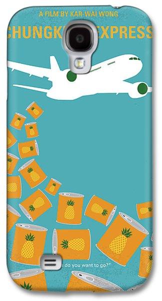 Hong Kong Galaxy S4 Case - No835 My Chungking Express Minimal Movie Poster by Chungkong Art