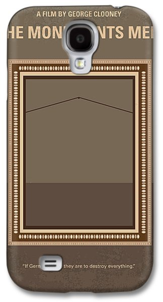 No845 My The Monuments Men Minimal Movie Poster Galaxy S4 Case