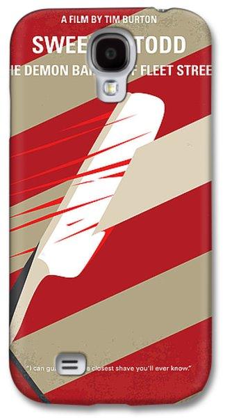 No849 My Sweeney Todd Minimal Movie Poster Galaxy S4 Case