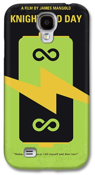 Knight Galaxy S4 Case - No899 My Knight And Day Minimal Movie Poster by Chungkong Art