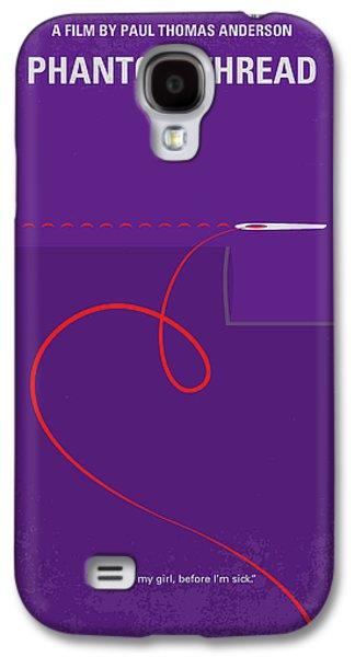 Woodcock Galaxy S4 Case - No904 My Phantom Thread Minimal Movie Poster by Chungkong Art