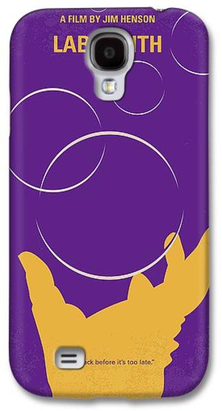 Knight Galaxy S4 Case - No928 My Labyrinth Minimal Movie Poster by Chungkong Art