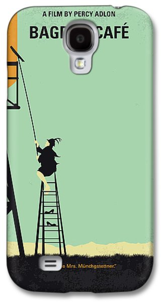 Magician Galaxy S4 Case - No964 My Bagdad Cafe Minimal Movie Poster by Chungkong Art