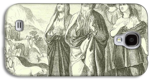 Noah And His Family Leaving The Ark, Genesis, Viii, 16 Galaxy S4 Case