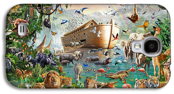 Noah's Ark Variant 1 Galaxy S4 Case by MGL Meiklejohn Graphics Licensing