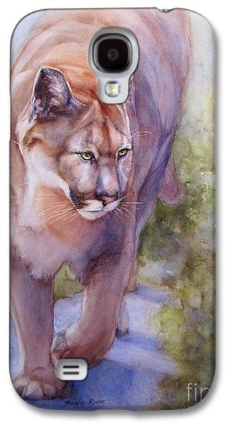 Noble Cougar Galaxy S4 Case by Bonnie Rinier