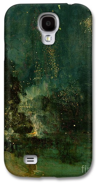 Nocturne In Black And Gold - The Falling Rocket Galaxy S4 Case