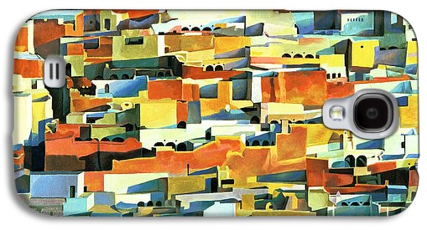 North African Townscape Galaxy S4 Case by Robert Tyndall
