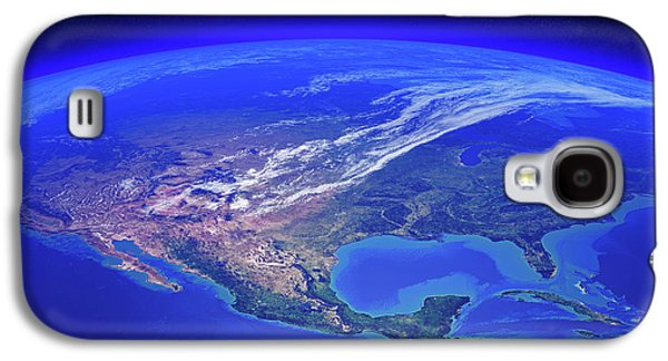 North America Seen From Space Galaxy S4 Case
