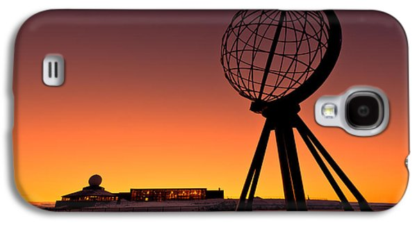 North Cape Norway At The Northernmost Point Of Europe Galaxy S4 Case