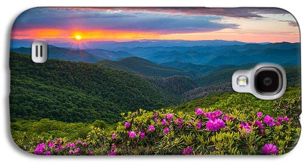 North Carolina Blue Ridge Parkway Landscape Craggy Gardens Nc Galaxy S4 Case