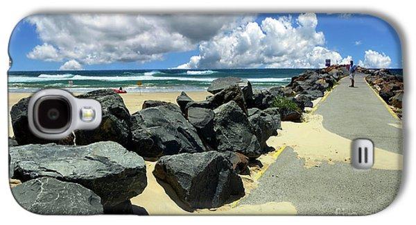 North Haven Breakwater Walkway By Kaye Menner Galaxy S4 Case